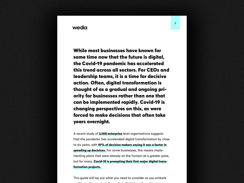 Digital Transformation Report - Intro